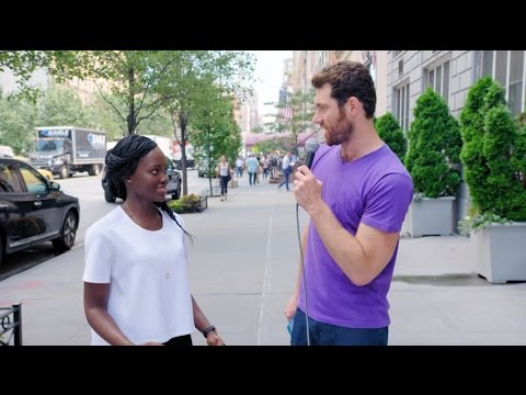 Billy on the Street Lupita Nyong o Tries Stand Up