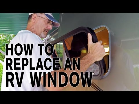 How To Replace an RV Window, and How It's Made!
