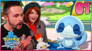 OUR GALAR JOURNEY BEGINS! • Let's Play Pokémon Sword & Shield ⚔️ LIVE! • Part 01 by Ace Trainer Liam