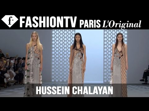 Fashion TV - http://www.FashionTV.com/videos PARIS - See the latest collection from Hussein Chalayan on the runway during Paris Fashion Week Spring/Summer 2015. Is that a dress and separate jacket? Nope,...