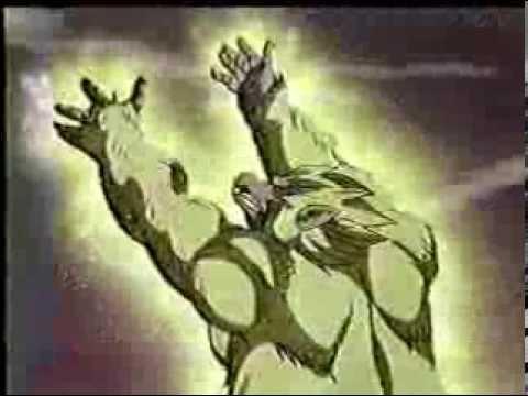 Goku se transforma en super sayayin 5 por primera vez