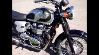 2. 2012 Triumph Bonneville T100 110th Anniversary Edition