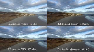 צילום אווירי D-LOG MODE למה זה טוב?