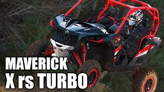 7. TEST RIDE: 2016 Can-Am Maverick X rs Turbo