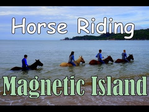 Horseback riding on Magnetic Island