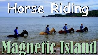 Magnetic Island Australia  city pictures gallery : HORSEBACK RIDING ON MAGNETIC ISLAND - Queensland, Australia