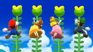 Mario Party 9 - All Sport Minigames| Cartoons Mee
