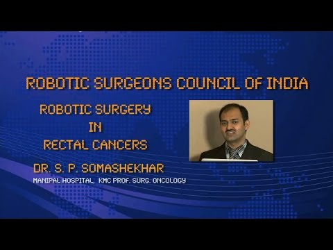Robotic Surgery in Rectal Cancers