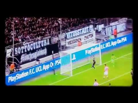 Borussia Mnchengladbach Vs Juventus 1-1