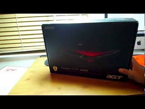 Acer Ferrari One 200 Notebook