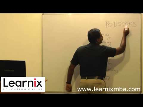 MBA Online Tution Class - Principles of Management - for Distance and Regular MBA
