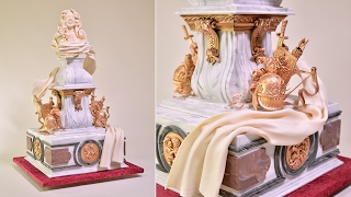 This is an introduction to our Baroque Style Wedding Cake tutorial at Yeners Way. Please visit the following link for the full tutorial...https://www.yenersway.com/tutorials/techniques/baroque-style-wedding-cake/