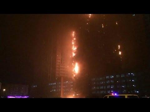 Ηνωμένα Αραβικά Εμιράτα: Στις φλόγες ουρανοξύστης