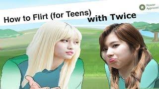 Video HOW TO FLIRT 101 WITH TWICE MP3, 3GP, MP4, WEBM, AVI, FLV Juli 2018