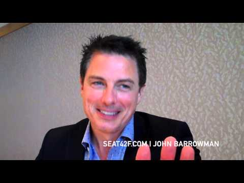 Arrow - Colton Haynes and John Barrowman - Comic-Con Interviews [VIDEO]