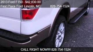 2013 Ford F150 Lariat - for sale in LENOIR, NC 28645