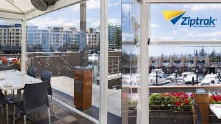 Ziptrak® PVC Outdoor Blinds