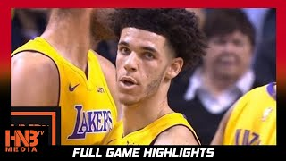 Los Angeles Lakers vs Boston Celtics 1st Half Highlights / Week 4 / 2017 NBA Season