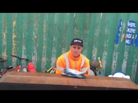 Sanitation Worker Plays Piano Left For Trash