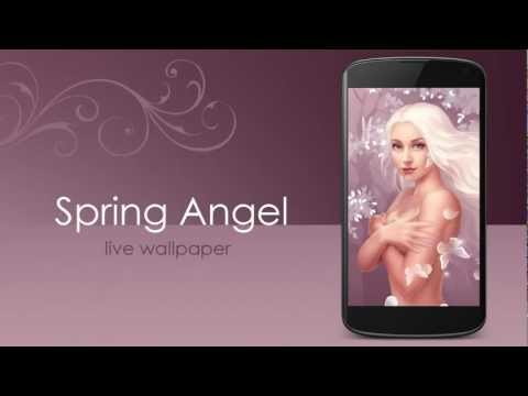 Video of Spring Angel live wallpaper