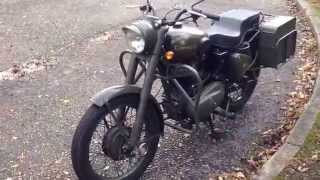 10. My Royal Enfield Bullet 500 military