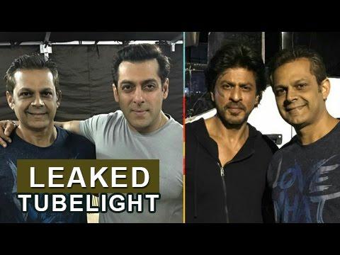 Salman Khan & Shahrukh Khan On TUBELIGHT SETS | Le