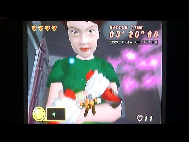 [iЯ]PS2の名作(?)懐ゲー『蚊』のプレイ動画(一部ステージ)