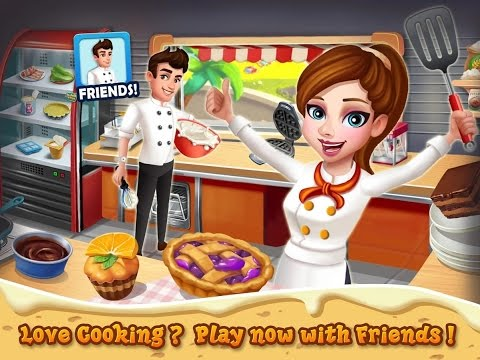 Rising Super Chef 2, Cooking Games, Videos Games For Kids - Girls - Baby Android