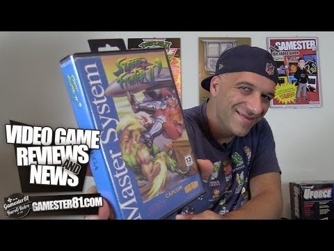 Rare Street Fighter II for the Sega Master System review - Gamester81