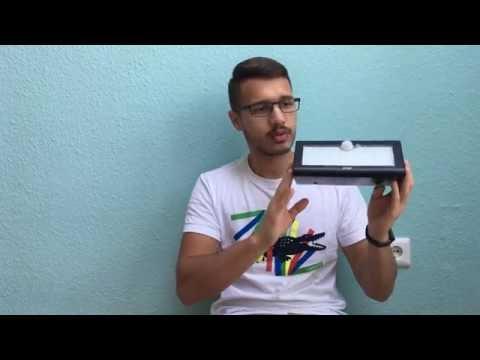 AUKEY LED Solar Wandleuchte mit Bewegungsmelder unboxing & Review Video