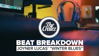 "BeatStars producers The Cratez breakdown the beat they created for the song ""Winter Blues"" off of Joyner Lucas' latest albumProducers: http://www.twitter.com/thecratezVideo Produced by: http://www.facebook.com/openeyepicturesBeats: http://www.beatstars.com/thecratez"