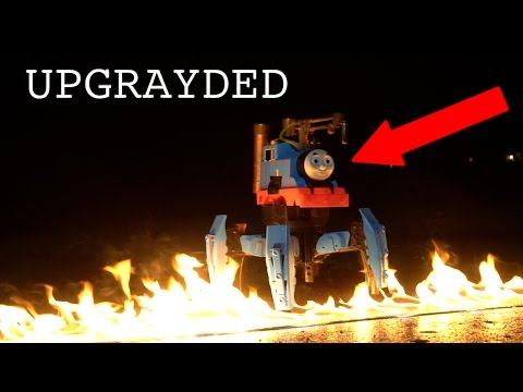 Video Dangerous Toy Modification-Thomas the FLAMETHROWER download in MP3, 3GP, MP4, WEBM, AVI, FLV January 2017