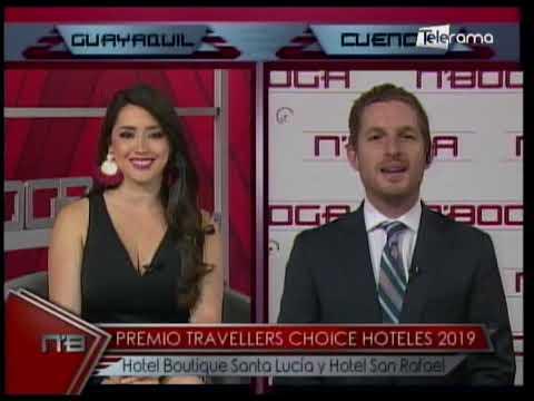 Premio Travellers Choice Hoteles 2019 Hotel Boutique Santa Lucía y Hotel San Rafael