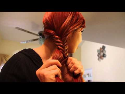 Trenza de Espiga o Cola de Pescado – Fishtail Braid!