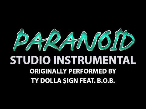 Paranoid (Cover Instrumental) [In the Style of Ty Dolla $ign feat. B.o.B.]
