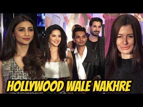 Daisy Shah & Georgia Andriani at the Launch of Sunny Leone Next Single Album 'Hollywood Wale Nakhre