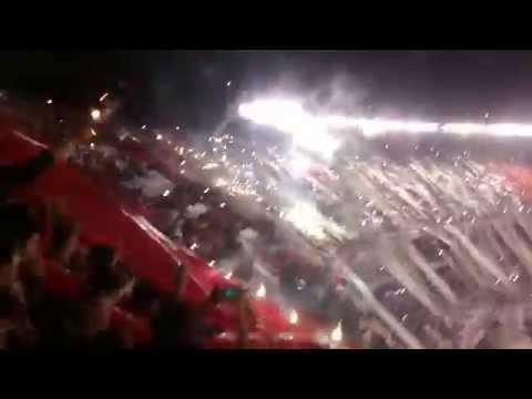 Video - Hinchada de River campeon vs Atl Nacional [FINAL] 2014 - Los Borrachos del Tablón - River Plate - Argentina