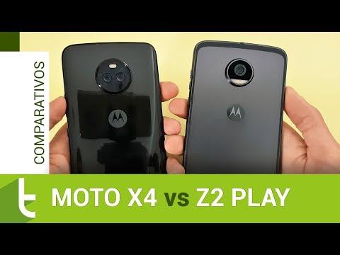 Motorola Moto X4 vs Moto Z2 Play  Comparativo do TudoCelular