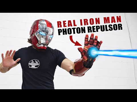REAL IRON MAN REPULSOR + GIVEAWAY!