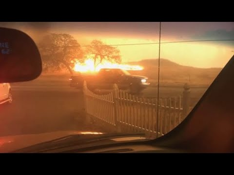 Residents describe evacuating from Paradise as Camp Fire rages