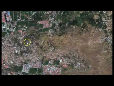 Crazy! Satellite Timelapse Shows Liquefaction During Indonesia Earthquake