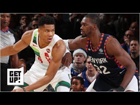 Video: NBA Christmas highlights: Bucks vs. Knicks, Jazz vs. Trail Blazers | Get Up!