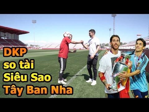 Thử Thách Bóng Đá Đỗ Kim Phúc Việt Nam VS siêu sao ĐT Tây Ban Nha Jesus Navas nhà vô địch World Cup - Thời lượng: 10:12.