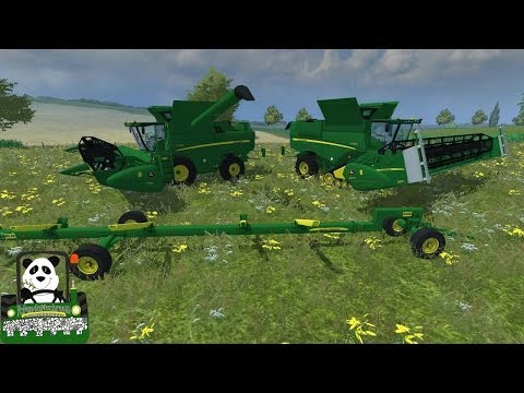 John Deere S690i V1 1 by Big Boss Modding Farming Simulator 2013 Mod Review