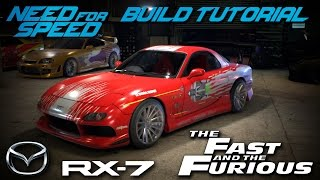 Nonton Need for Speed 2015 | The Fast & The Furious Dom's Mazda RX7 Build Tutorial | How To Make Film Subtitle Indonesia Streaming Movie Download