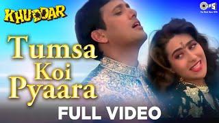 Video Tumsa Koi Pyaara - Khuddar   Govinda & Karisma Kapoor   Kumar Sanu & Alka Yagnik MP3, 3GP, MP4, WEBM, AVI, FLV Agustus 2019