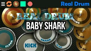 Baby Shark - Real Drum