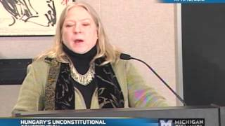 Kim Lane Scheppele - Hungary's Unconstitutional Constitution - 04/10/12
