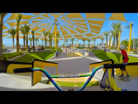BMX RIDING AT DUBAI'S BEST SKATEPARK!! (видео)