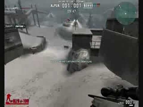 Combat Arms Snow Valley Gameplay